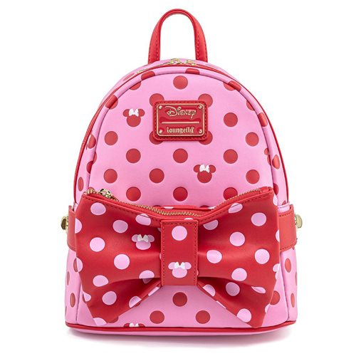 Minnie Mouse 2-in-1 Pink Bow Fanny Pack & Mini-Backpack