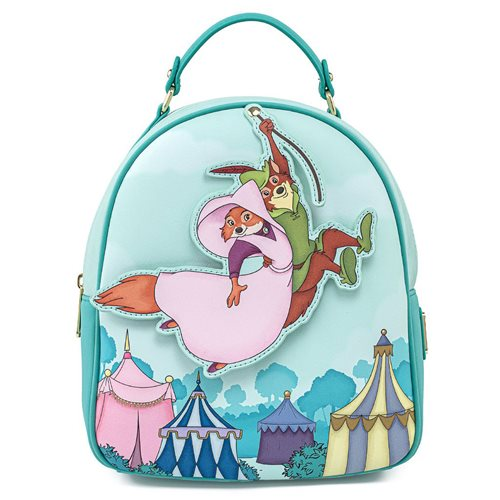 Disney Robin Hood Rescue Scene Mini-Backpack