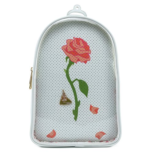 Beauty and the Beast Rose Pin Collector Backpack