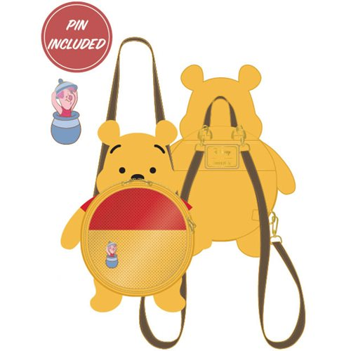 Winnie the Pooh Pin Collector Backpack