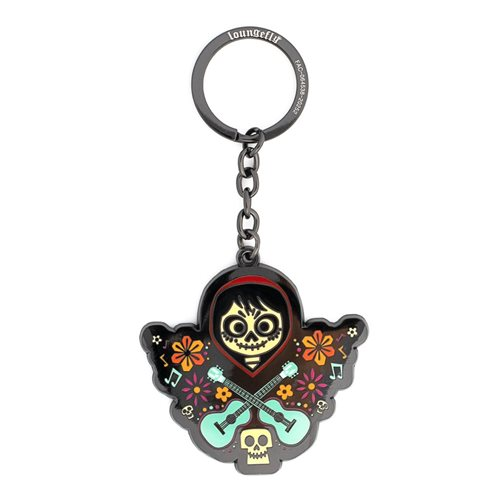 Coco Seize Your Moment Double-Sided Enamel Key Chain