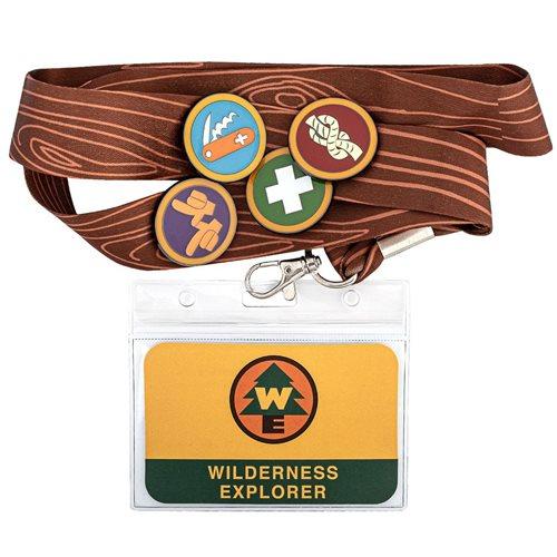 Up Wilderness Explorers Lanyard Enamel Pin Set