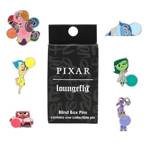 Inside Out Blind-Box Enamel Pin 12-Piece Display Tray