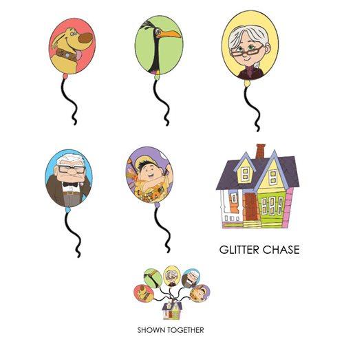 Up Balloon Blind-Box Enamel Pin Case