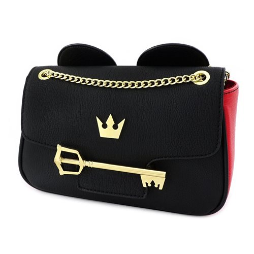 Kingdom Hearts Mickey Key Crossbody Purse