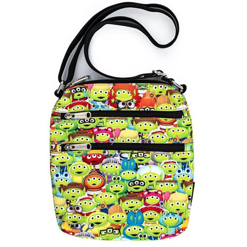 Toy Story Alien Outfits Nylon Passport Purse