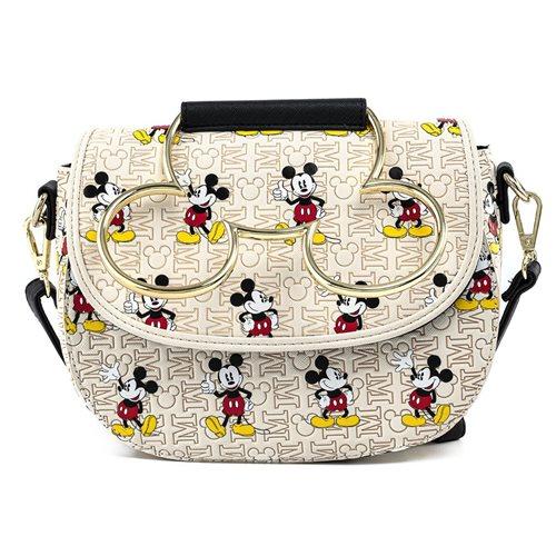 Disney Mickey Mouse Poses Mickey Head Hardware Purse