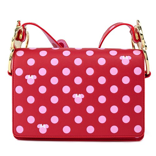 Minnie Mouse Pink Polka Dot Crossbody Purse