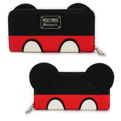 Mickey Mouse Suit Zip Around Wallet