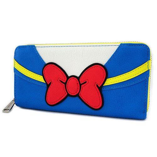 Donald Duck Zip-Around Wallet