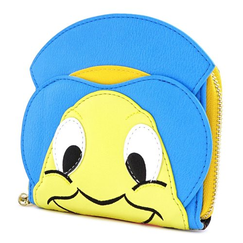 Pinocchio Jiminy Cricket Zip-Around Wallet