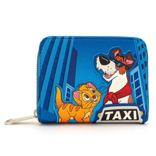 Oliver and Company Taxi Ride Zip-Around Wallet