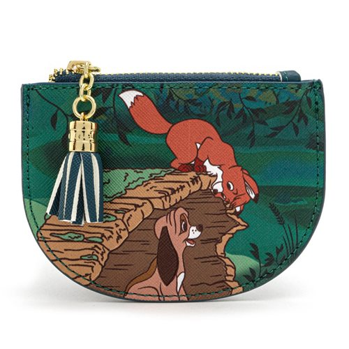 Fox and the Hound Peekaboo Log Cardholder
