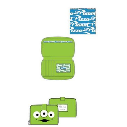 Toy Story Alien Zip-Around Wallet