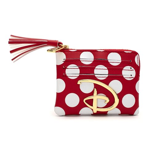 Disney Red-and-White Polka-Dot Coin Purse
