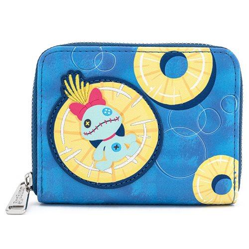 Disney Lilo & Stitch Scrump on Pineapple Zip-Around Wallet