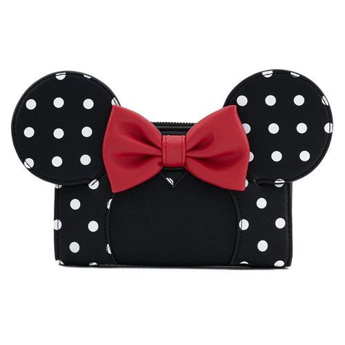 Disney Minnie Mouse Polka Dot Flap Wallet