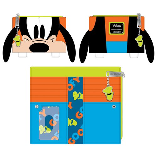 Disney Goofy Cosplay Flap Wallet