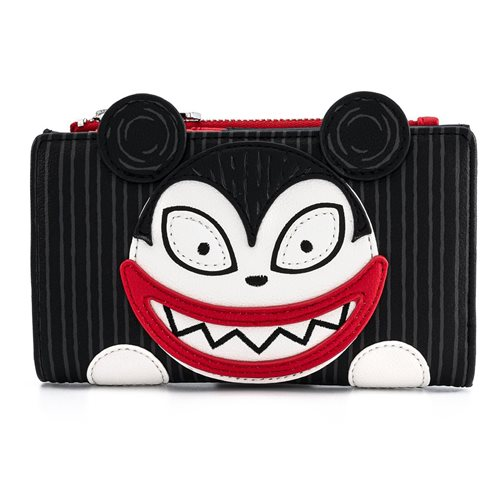 NBX Scary Teddy and Undead Duck Flap Wallet
