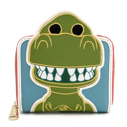 Toy Story Rex Pop! by Loungefly Zip-Around Wallet