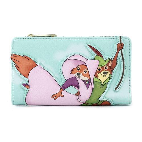 Disney Robin Hood Rescue Scene Flap Wallet