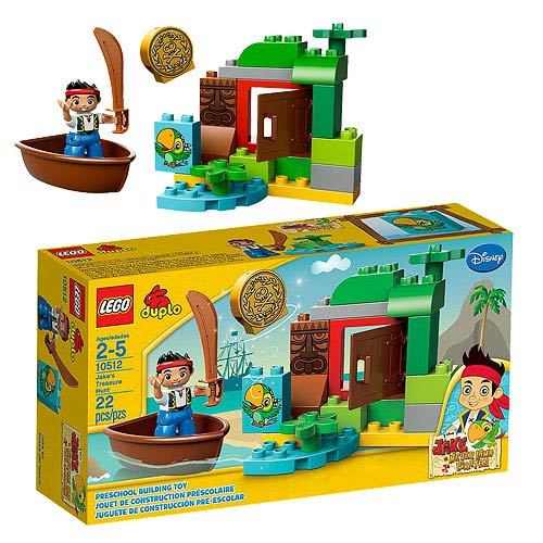 LEGO Duplo Never Land Pirates 10512 Jake's Treasure Hunt