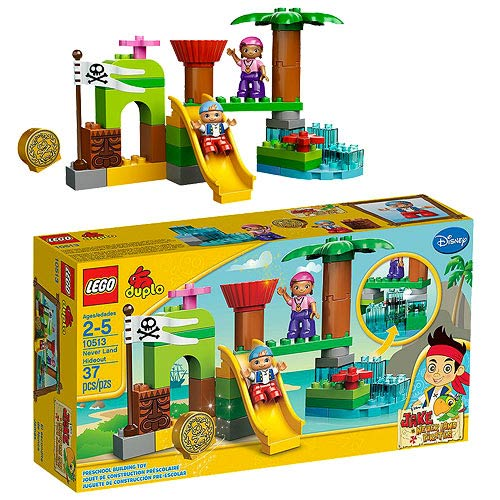 LEGO DUPLO Never Land Pirates 10513 Never Land Hideout