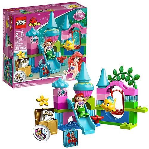 LEGO DUPLO 10515 Little Mermaid Ariel's Undersea Castle