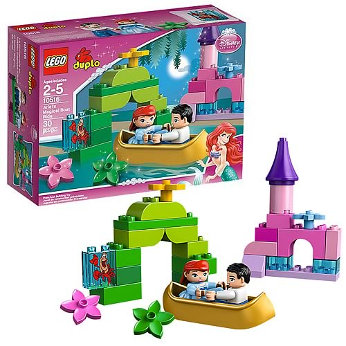 LEGO DUPLO 10516 Little Mermaid Ariel's Magical Boat Ride