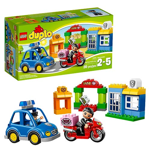LEGO DUPLO 10532 My First Police Set