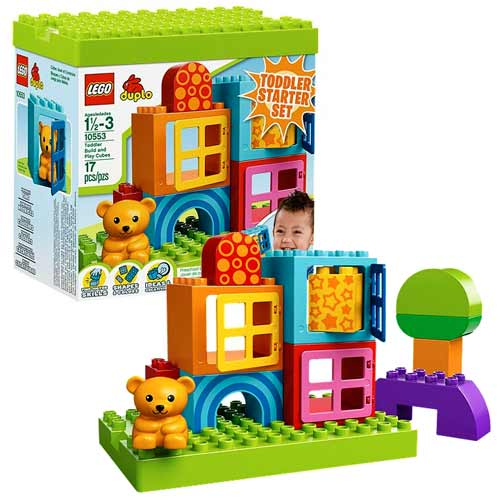 LEGO DUPLO 10553 Toddler Build And Play Cubes