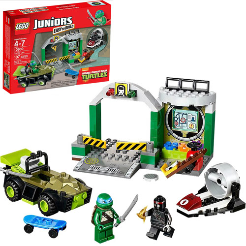 LEGO Juniors 10669 TMNT Turtles' Lair