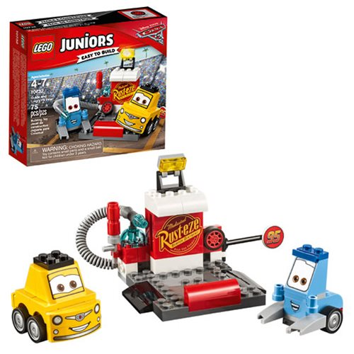 LEGO Juniors Cars 10732 Guido and Luigi's Pit Stop