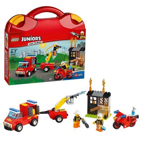 LEGO Juniors LEGO City 10740 Fire Patrol Suitcase