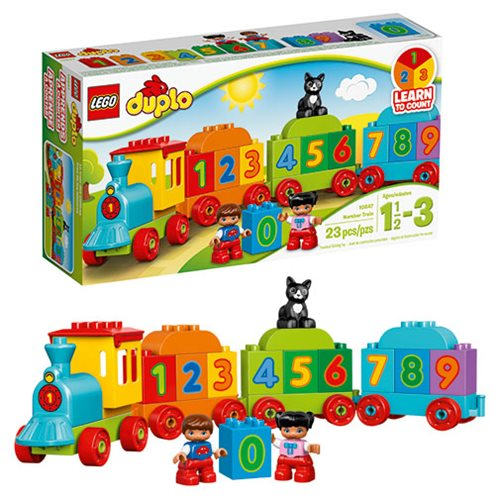 LEGO DUPLO 10847 My First Number Train