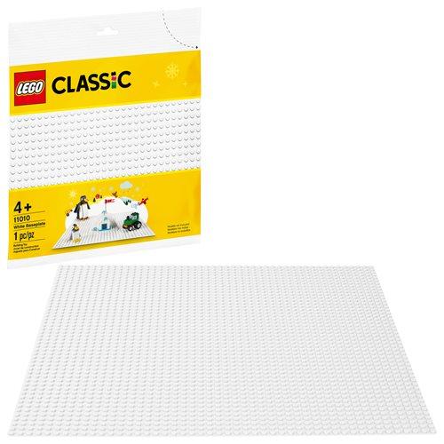 LEGO 11010 White Baseplate