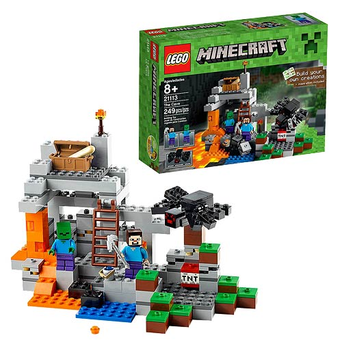 LEGO Minecraft Creative Adventures 21113 The Cave