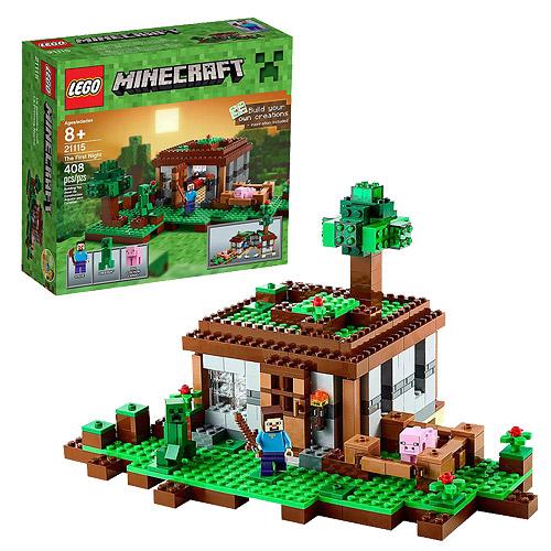 LEGO Minecraft Creative Adventures 21115 The First Night ...