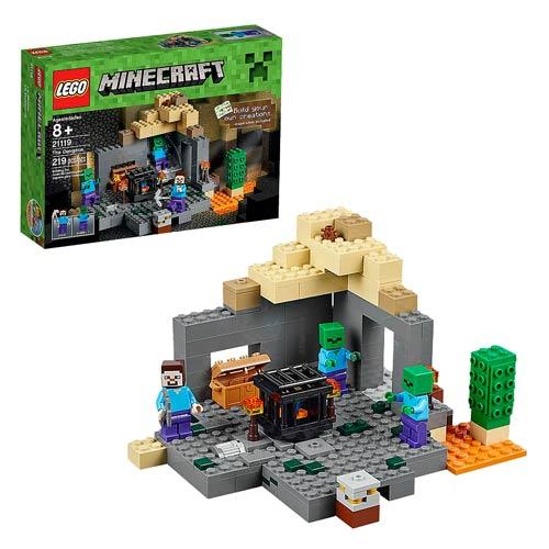 LEGO Minecraft Creative Adventures 21119 The Dungeon ...