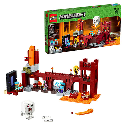 LEGO Minecraft Creative Adventures 21122 The Nether Fortress