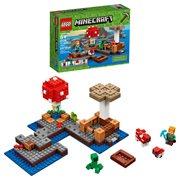 LEGO Minecraft Creative Adventures 21129 The Mushroom Island