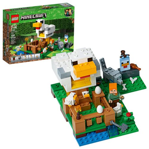 LEGO Minecraft Creative Adventures 21140 The Chicken Coop