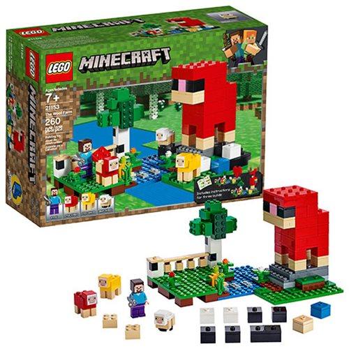 LEGO 21153 Minecraft The Wool Farm