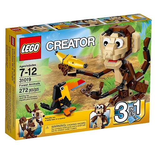 LEGO Creator 31019 Forest Animals