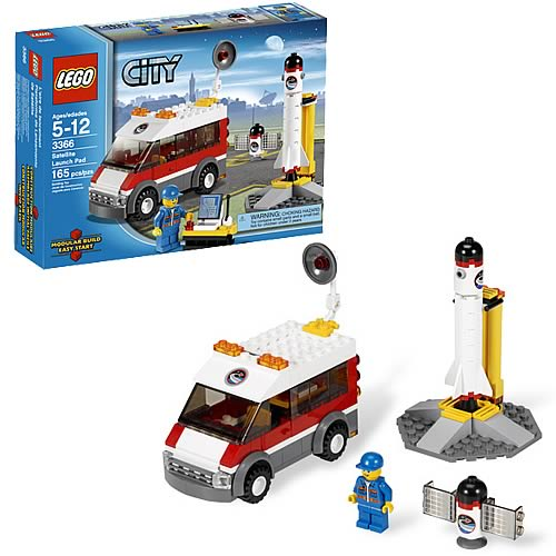 LEGO City 3366 Satellite Launch Pad
