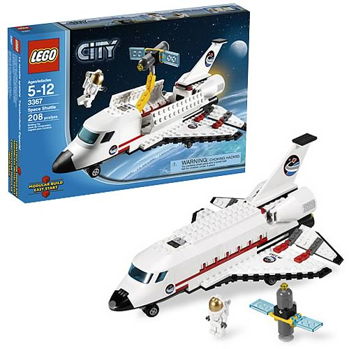 Lego city 3367 space shuttle case lego lego city for Case lego city