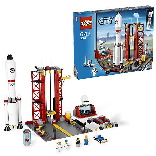 Lego city 3368 space centre case lego lego city for Case lego city