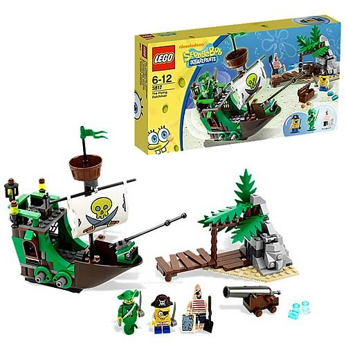 LEGO Spongebob Squarepants 3817 Flying Dutchman