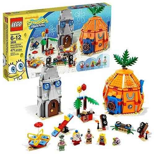 LEGO Spongebob Squarepants 3818 Bikini Bottom Undersea Party