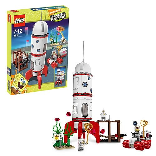 LEGO 3831 SpongeBob SquarePants Rocket Ride
